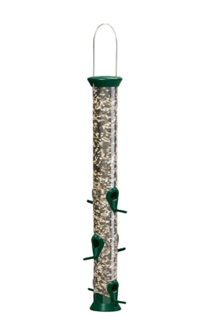 New Generation Peanut Metal Feeder, 23 Inch, Green