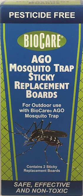Replacement Sticky Boards for AGO Mosquito Traps