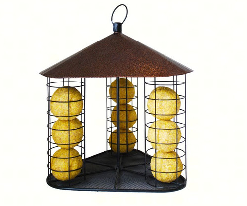 Fly-Through Suet Ball Feeder