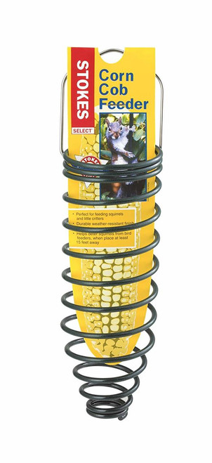 Corn Cob Squirrel Feeder
