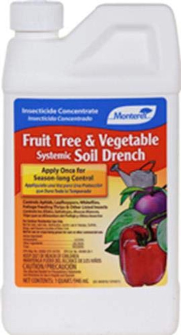 Fruit Tree & Vegetable Systemic Soil Drench 32oz
