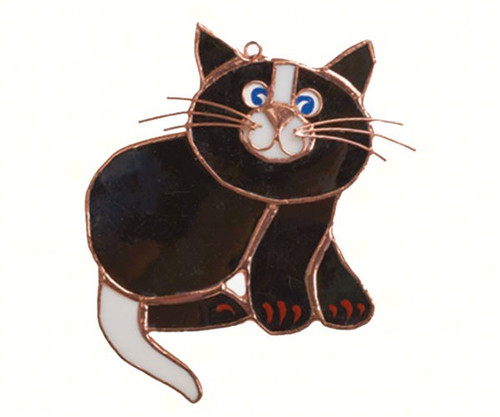 Black Cat Suncatcher