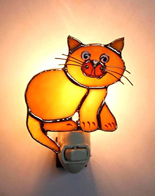 Tan Cat Nightlight