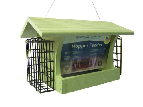 Green Solutions Medium Hopper Feeder With Suets