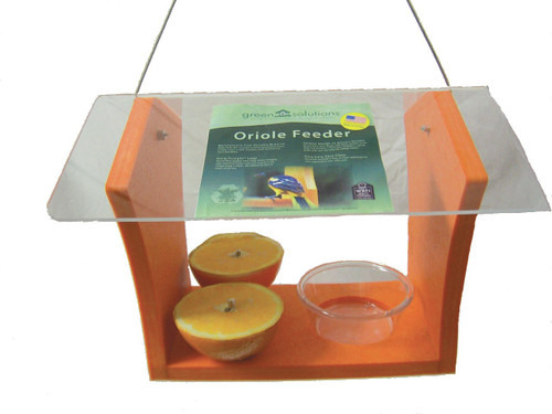 Green Solutions Oriole Bird Feeder