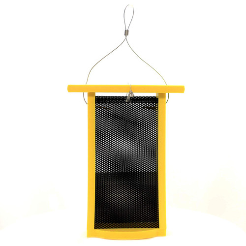 Green Solutions Recycled Nyjer Finch Feeder, Yellow