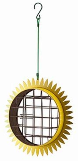 Sunflower Suet Bird Feeder With Hanger