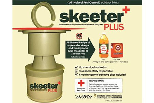 Skeeter Plus Flying Pest Trap