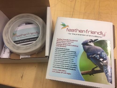 Feather Friendly Decal, 1 Roll