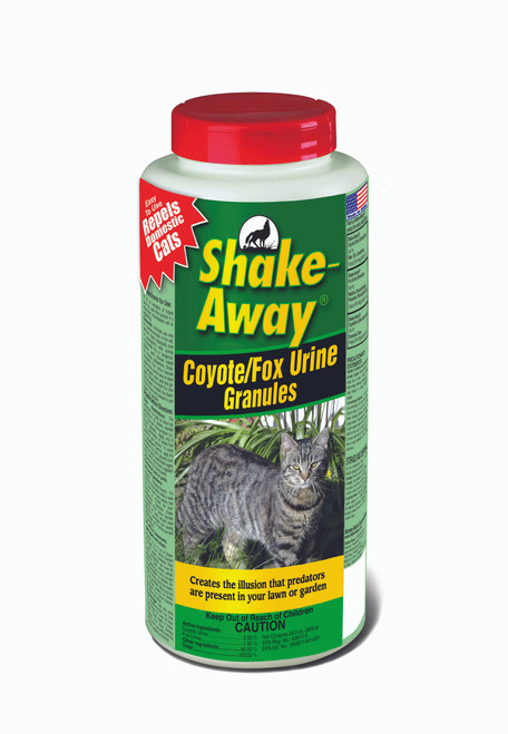 Shake-Away Coyote/Fox Urine Granules 20 oz