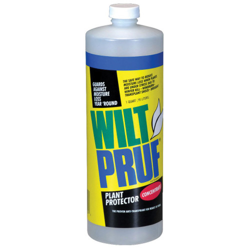 Wilt-Pruf Plant Protector, 1 Quart Concentrate