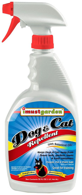 All Natural Dog & Cat Repellent 32oz Trigger Spray