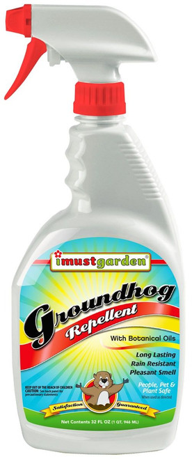 All Natural Groundhog Repellent 32oz Trigger Spray