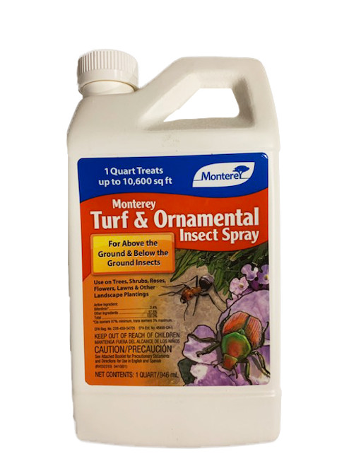 Monterey Turf & Ornamental Insect Spray, 1 Quart Concentrate