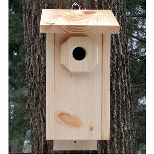 Handmade Chickadee House
