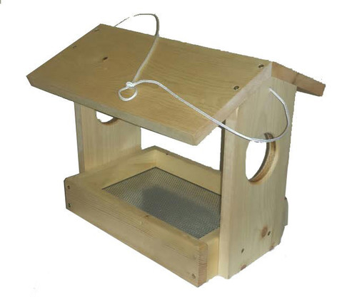 Handmade Fly-Through Feeder