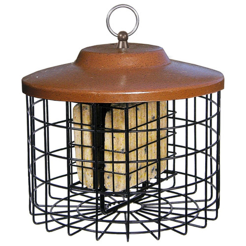 Stokes Squirrel Proof Double Suet Feeder