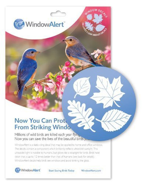 Window Alert Leaf Medley Decals