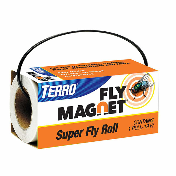 Terro Super Fly Roll Magnet Fly Trap
