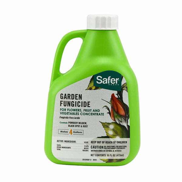 Safer Garden Fungicide Concentrate, 16-Ounce