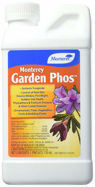 Garden Phos Systemic Fungicide 1 Pint Concentrate