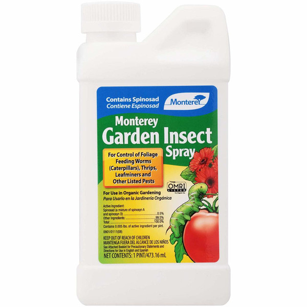 Garden Insect Spray with Spinosad