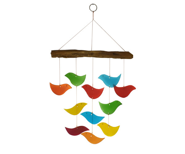 Bird Driftwood Chime