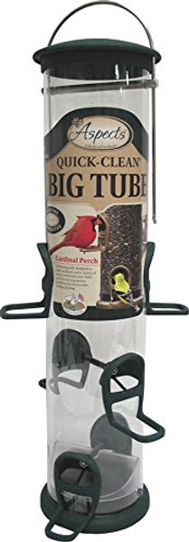 Spruce Quick Clean Big Tube Feeder, Large