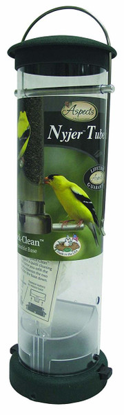 Quick-Clean Nyjer Seed Tube Feeder, Large