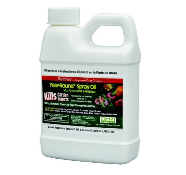 Year-Round Spray Oil for Garden Insects Concentrate, 16-Ounce