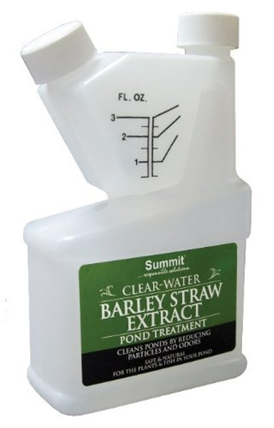 Clear-Water Barley Straw Extract Pond Treatment, 16 Ounce