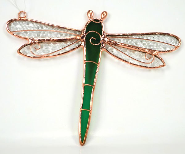 Green Dragonfly Sun Catcher
