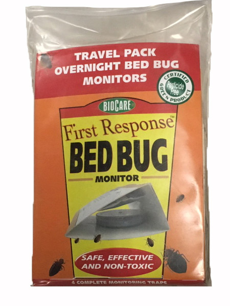 Travel Bed Bug Monitor, 4PK