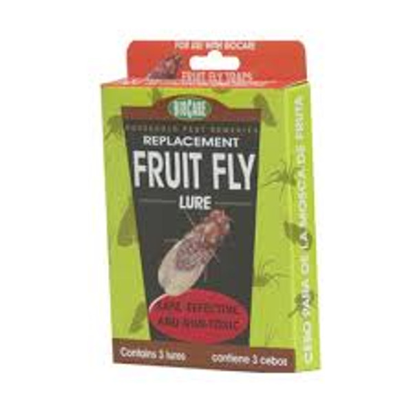 Fruit Fly Replacement Lure, 3pk