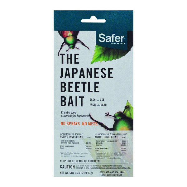 Safer's Japanese Beetle Trap Replacement Bait