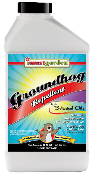 All Natural Groundhog Repellent 32oz Concentrate