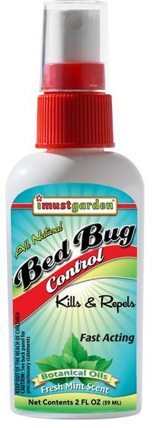 All Natural Bed Bug Control, 2oz. Travel Size