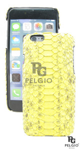 """Genuine Python Belly Skin iPhone 6 4.7"""" Hard Case Yellow [PYBPC005BYW01M]"""