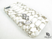 Genuine Python Belly Skin iPhone 5 5S Hard Case Natural [PYBPC004BNT01M]