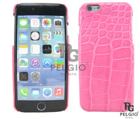 "Genuine Crocodile Belly Skin iPhone 6 4.7"" Hard Case Pink [CRPC008PK04M]"