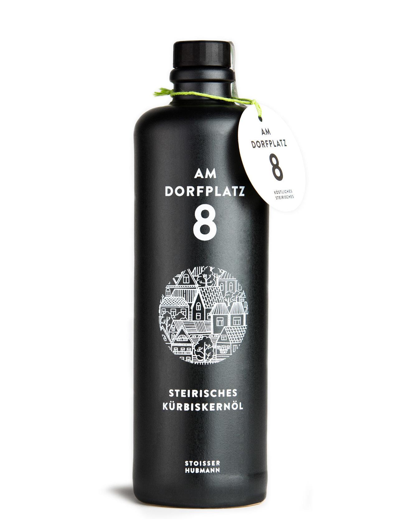 steirisches Kürbiskernöl in Tonflasche am Dorfplatz 8 online kaufen Online shop Burgenland Neusiedlersee