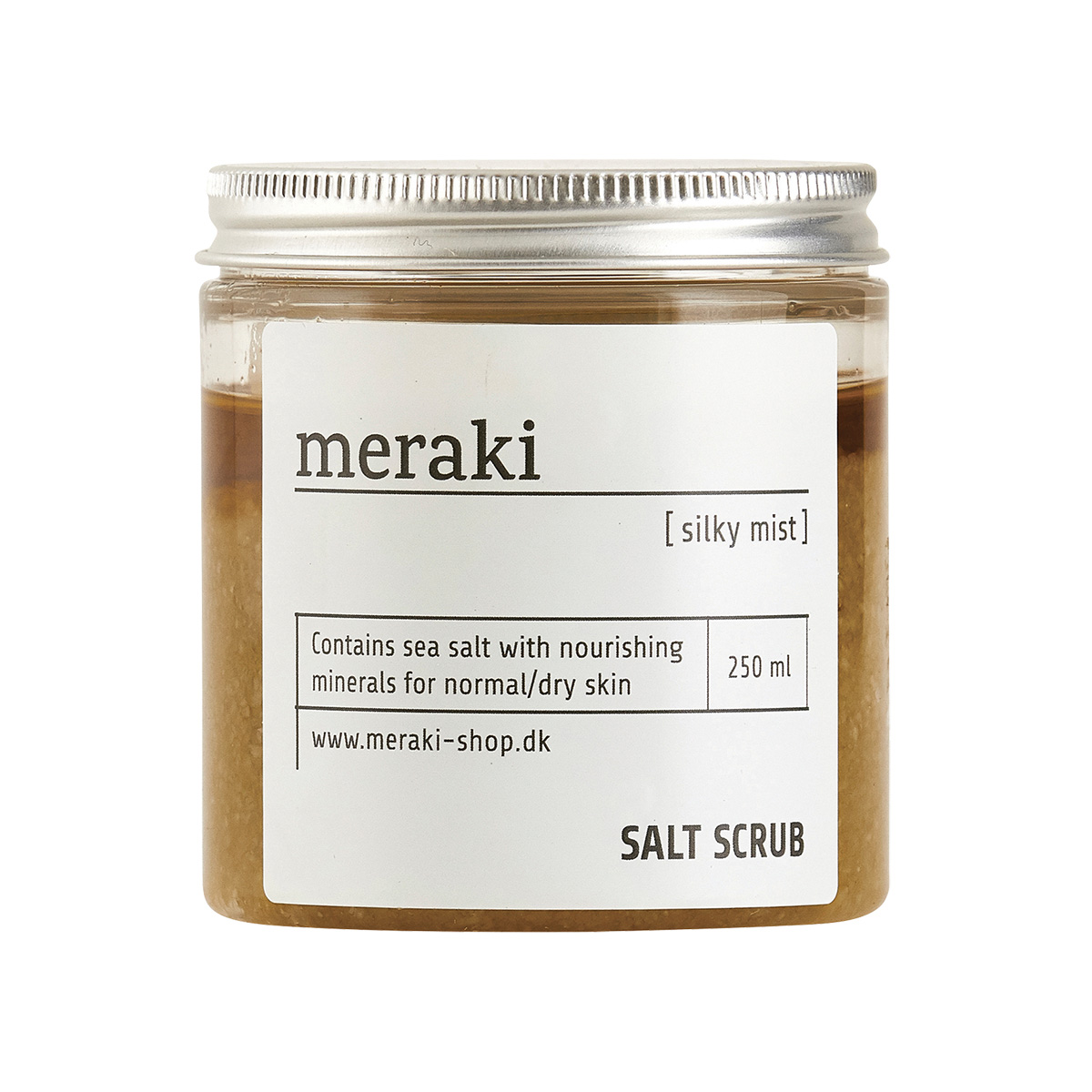 MERAKI SALZ PEELING SALT SCRUB SILKY MIST