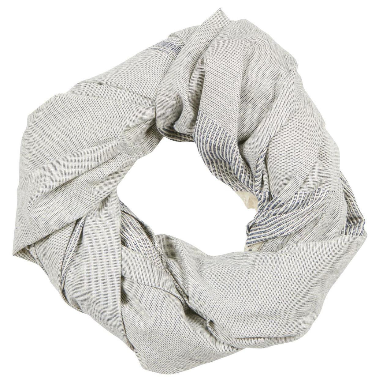 IB LAURSEN TUCH CLOTH TOWEL FRANSEN BLAU WEISS STREIFEN GESTREIFT ONLINE SHOP ONLINE KAUFEN