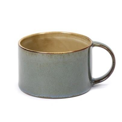 SERAX KAFFEETASSE UNTERTASSE TELLER ANITA LE GRELLE STEINGUT COFFE CUP STONEWARE MISTY GREY SMOKEY BLUE ONLINE SHOP ONLINE KAUFEN