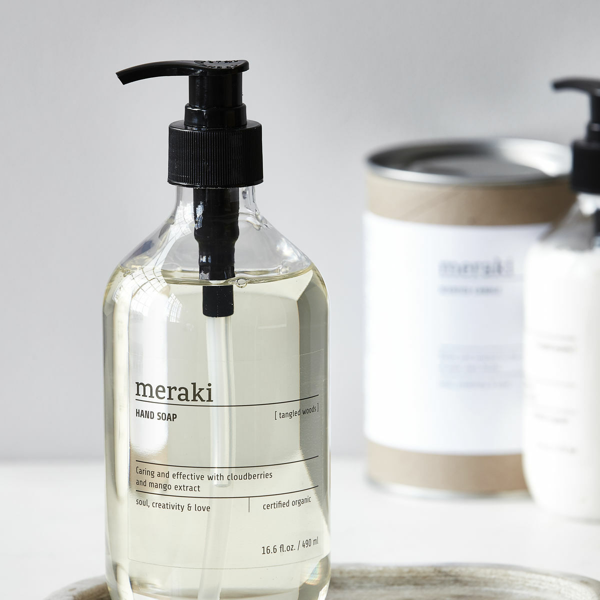 MERAKI HANDSEIFE HANDSOAP TANGLED WOODS