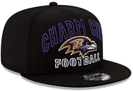BALTIMORE RAVENS New Era NFL 9FIFTY Snapback Hat - Black