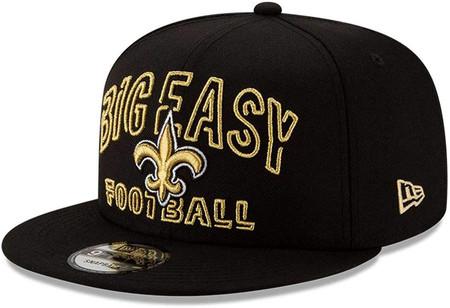 NEW ORLEANS SAINTS BIG EASY New Era NFL 9FIFTY Snapback Hat - Black