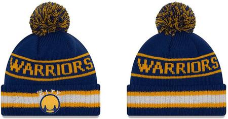 Golden State Warriors Vintage Select Pom - Royal,
