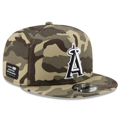 MLB L.A. Angels 2021 Armed Forces Day 9Fifty 950 Snapback Hat