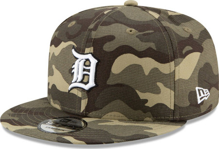 MLB Detroit Tigers 2021 Armed Forces Day 9Fifty 950 Snapback Hat
